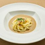 Spaghetti, cozze e lupini